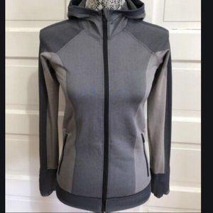 Lululemon Ebb to Train Jacket Hoodie Black Chrome